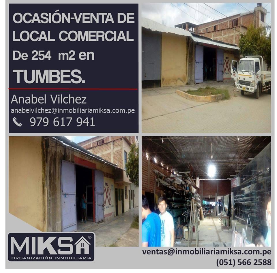 OCASIÓNVENTA DE LOCAL COMERCIAL de 254 m2 en