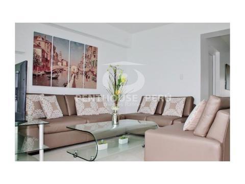 Departamento en alquiler en Miraflores Exclusivo Duplex Vista Mar 2 dormitorios Terraza