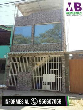 Casa con Dos Dptos en Urb Ignacio Merino