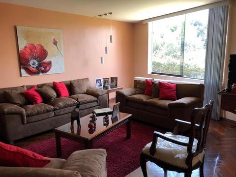 Amplio departamento 220 m2, 4 dormitorios en Jesús María