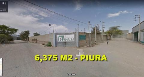 SE VENDE TERRENO EN ESQUINA DE 6,375 M2 EN