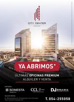 CITY CENTER Oficinas y Locales Comerciales de lujo