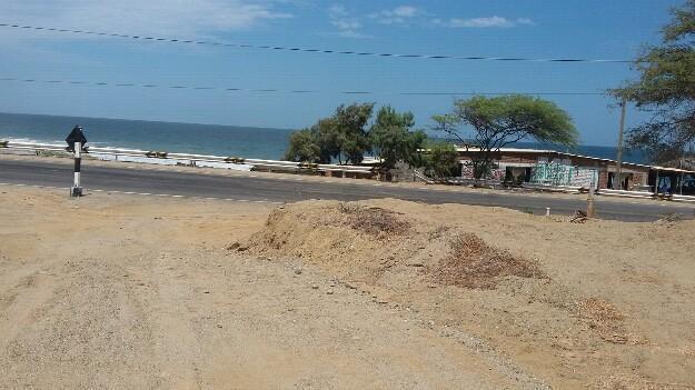 Remato terreno frente al mar