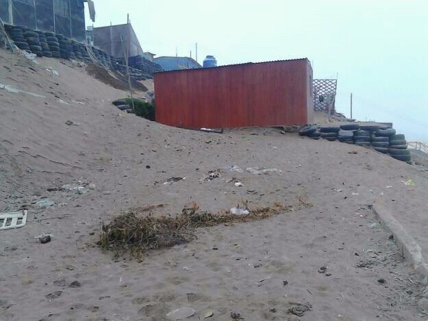 Terreno en villa el salvador 108m2 Con vista al mar