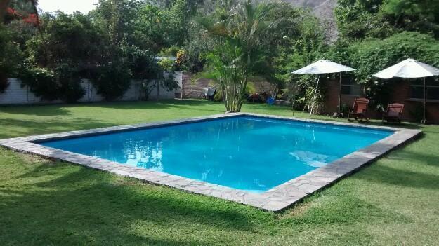Bungalow Cieneguilla super equipado 2 dormitorios piscina