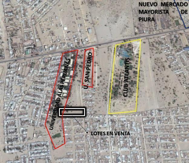 VENTA DE TERRENOS AL LADO DE LA UNIVERSIDAD ALAS PERUANAS DESDE 108 METROS CUADRADOS