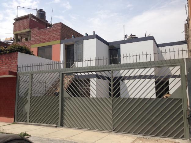 CASA EN VENTA EN COMAS EN LA MEJOR ZONA DEL CONO NORTE