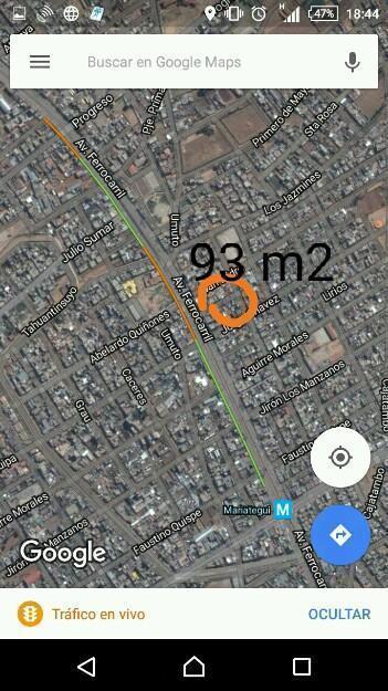 Vendo casa 93 m2 frente al parque San Isidro