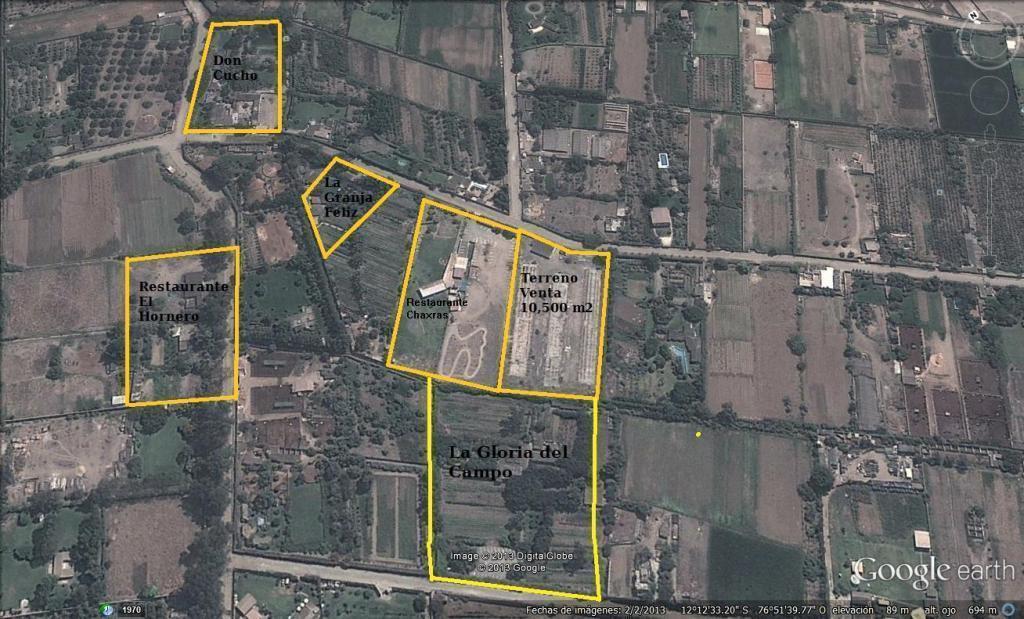 Vendo terreno Pachacamac 10,500 m2 Casa blanca