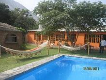 Cieneguilla bungalow 2 dormitorios piscina full equipado