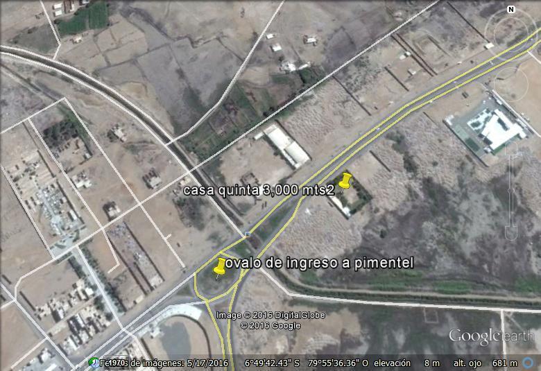 se vende casa quinta de 3,000 mts2