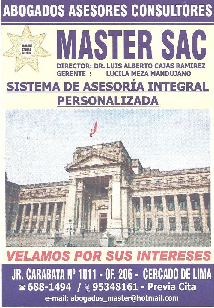 ASESORIA ESTUDIO DE TITULOS DE PROPIEAD ABOGADO CRISTIANO