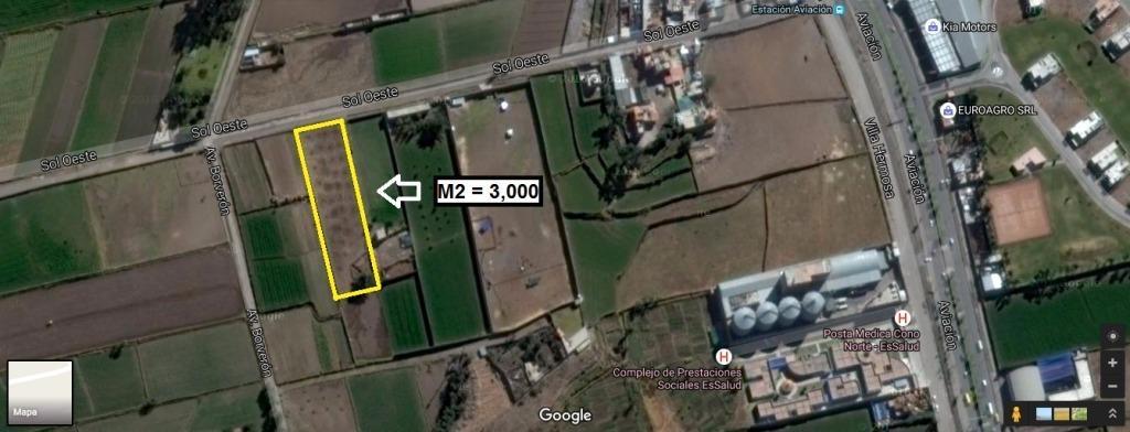 3000 M2 EN CERRO COLORADO. MUY BIEN UBICADO