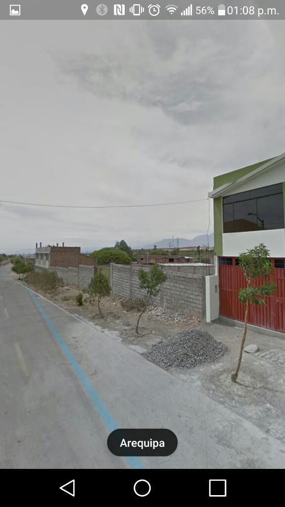 Terreno de 750m2 por La Pampa de Socabaya con todos los servicios