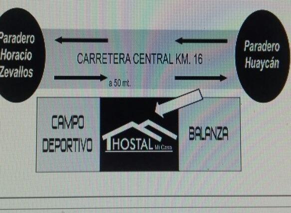 Alquiler de habitaciones Hostal Mi Casa en Huaycan