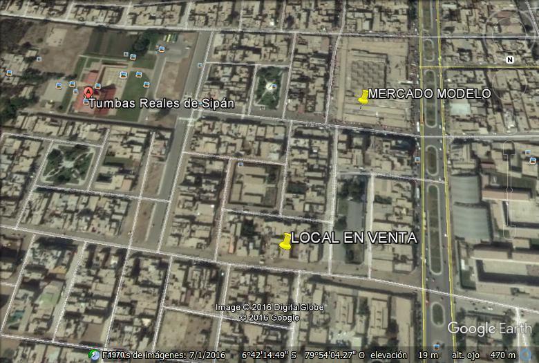 SE VENDE LOCAL DE 200 MTS2 UBICADO CERCA MERCADO DE