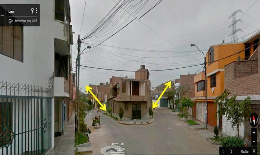 VENDO TERRENO 216.70m2 EN LOS OLIVOS con entrada por 2 frentes